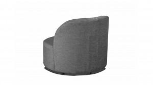 deva fauteuil pivotant et pouf tissu gris clair Résultat Supérieur 50 Inspirant Fauteuil Pivotant Tissu Photos 2017 Hyt4