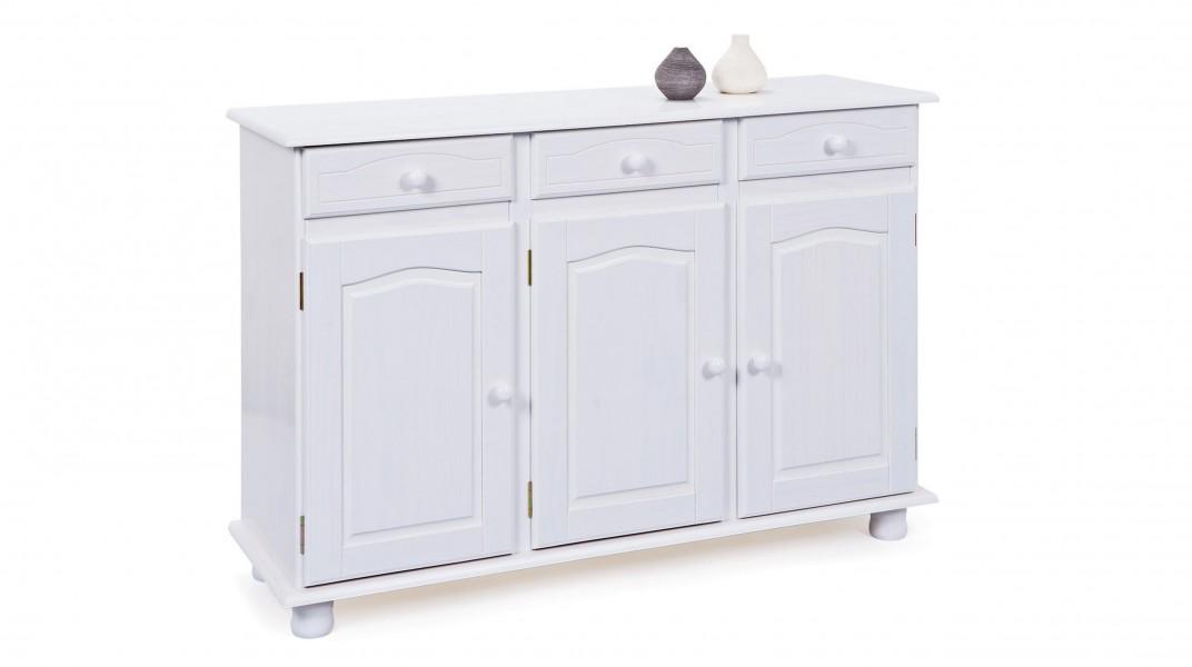 LIVIO - Buffet bas 3 portes 3 tiroirs