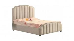 NOBLE - Lit Coffre Beige 160x200 cm
