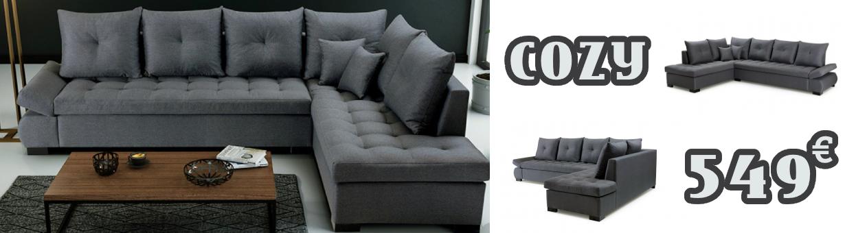 COZY - Canapé d'angle